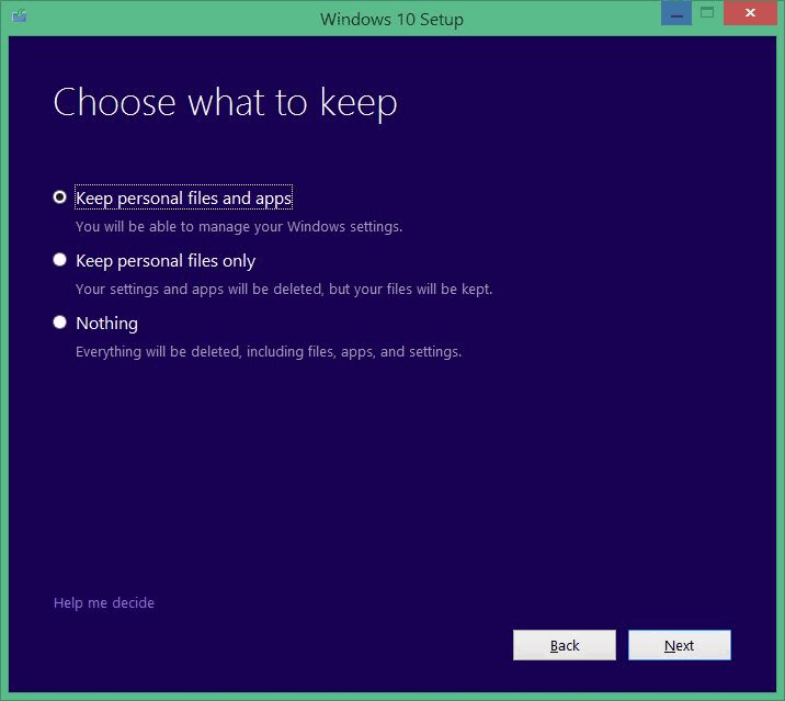 windows 10 free upgrade from windows 8