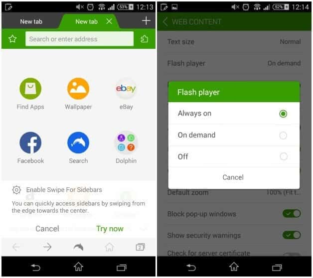flash player mobile free download