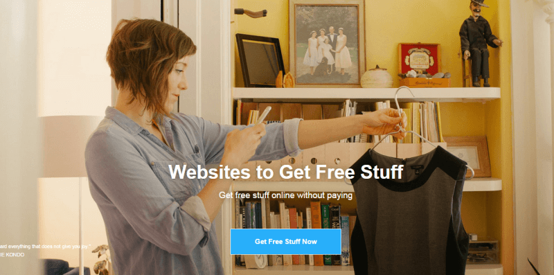 Get free stuff online without paying