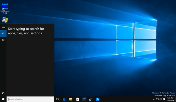 disable web search in windows 10 start menu