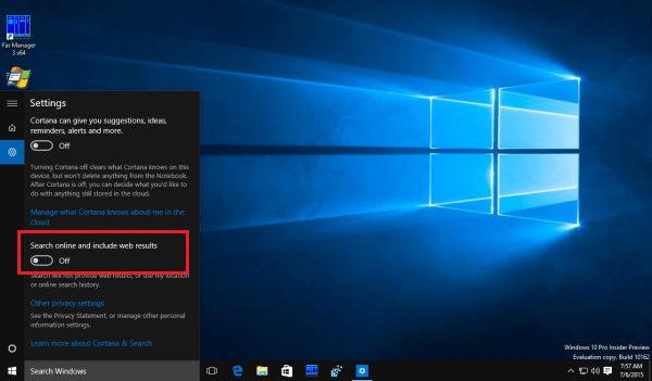 faster windows 10 start menu
