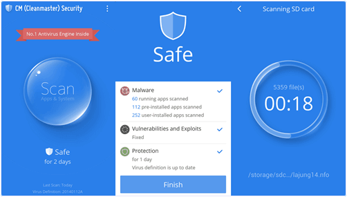 best free antivirus for android tablet 2015