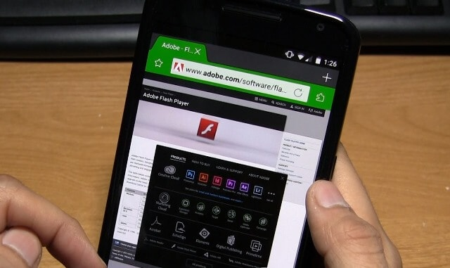 get adobe flash player for android