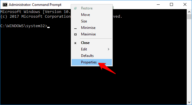 how to copy and paste in command prompt