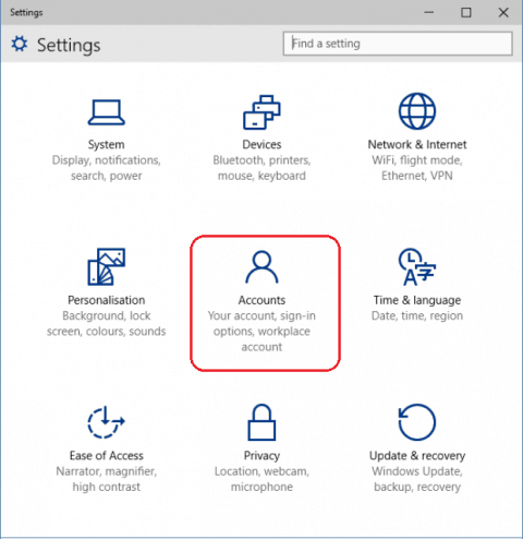 methods to remove user accounts in windows 10