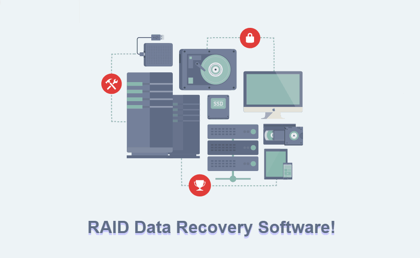 RAID data recovery software to recover lost data