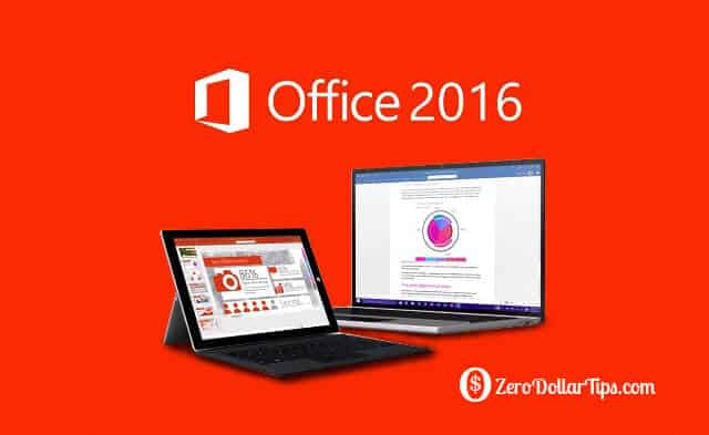 upgrade to microsoft office 2016