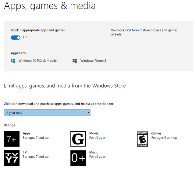 windows 10 apps, games & media