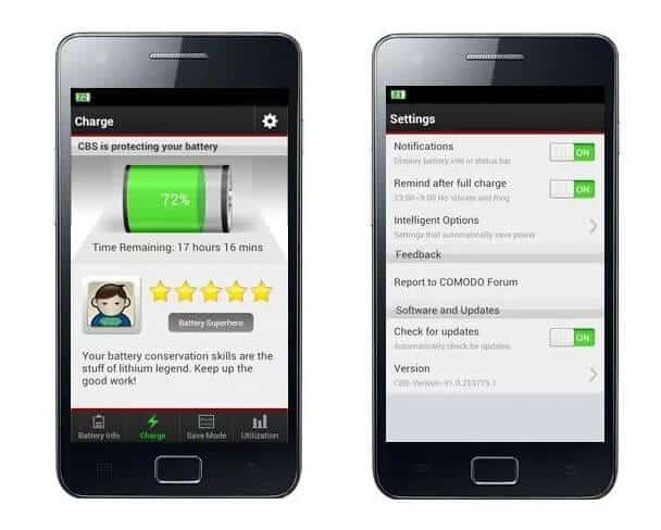 free battery saver app