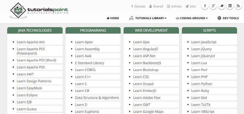 learn programming languages online free