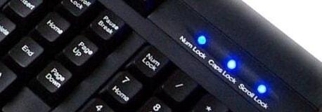 make the keyboard led dance