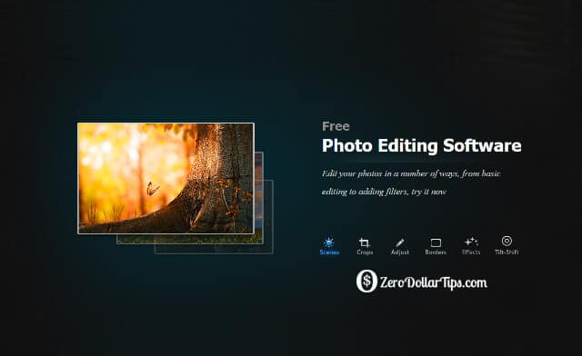 photo editing software for Windows