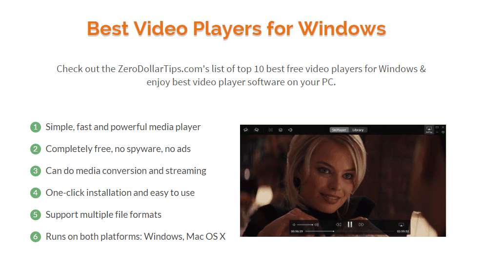 best video player windows