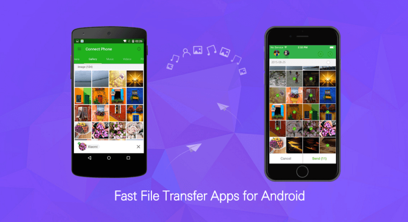 file transfer apps for android