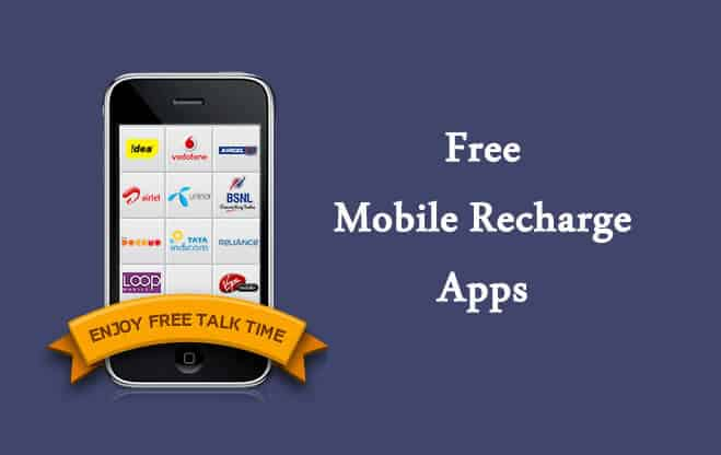 free mobile recharge apps for android