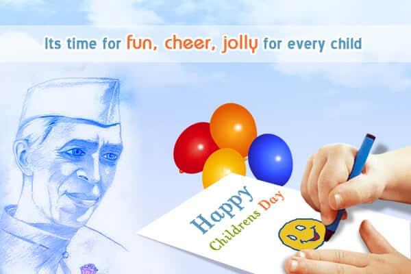 happy children's day poems