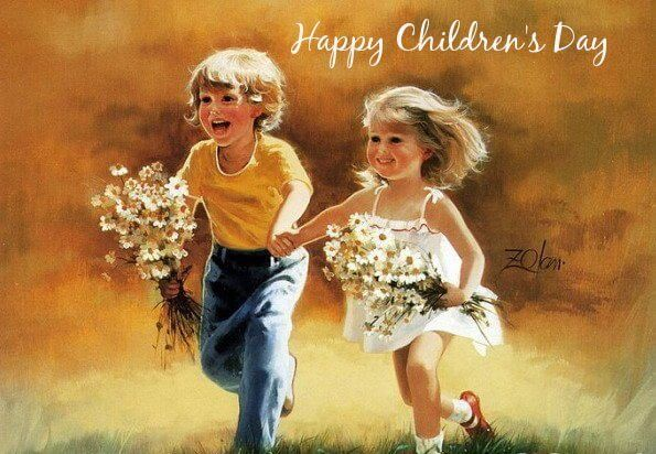 happy children's day whatsapp status
