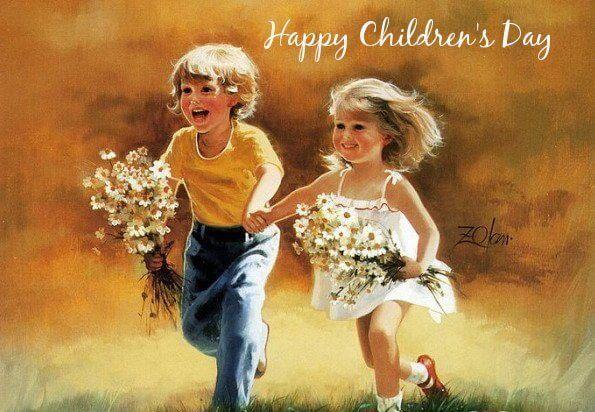 happy children's day whatsapp status