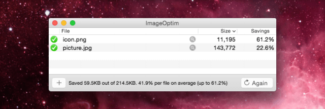 reduce image size without losing quality on Mac