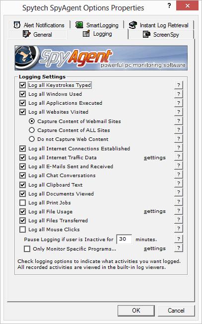 spyagent computer monitoring software
