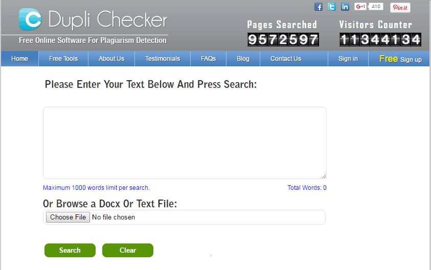 free copy content checker