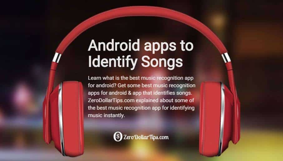 music recognition app for android