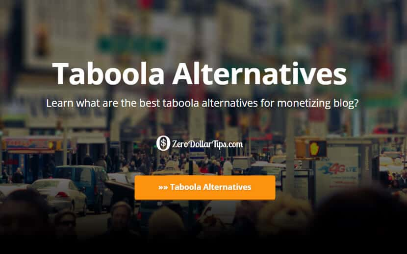 taboola alternatives