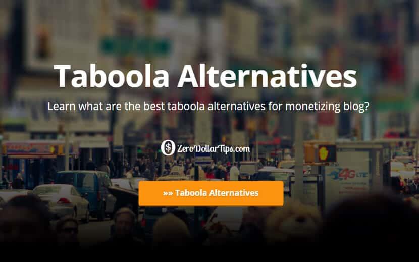 taboola alternatives
