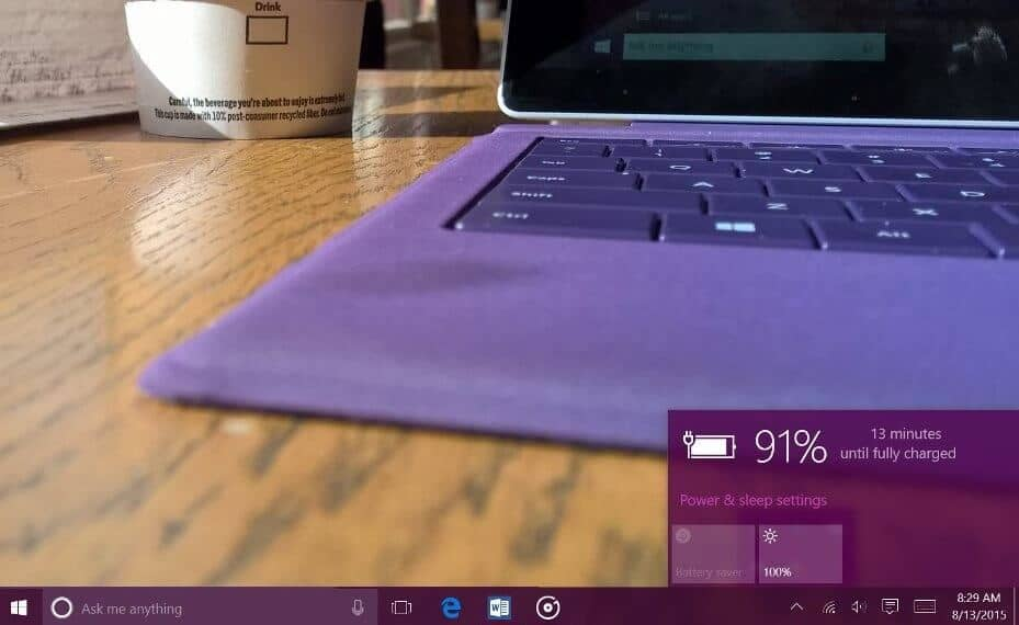 extend laptop battery life windows 10