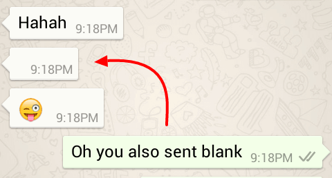 Top 3 Methods to Send Blank Message in WhatsApp ✅