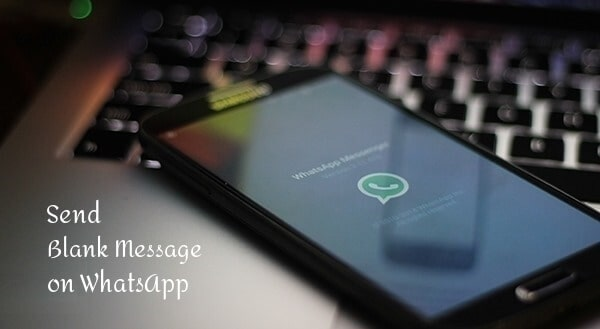 Send blank message Whatsapp