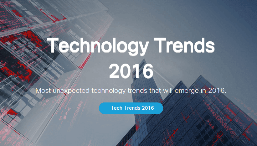 technology trends 2016