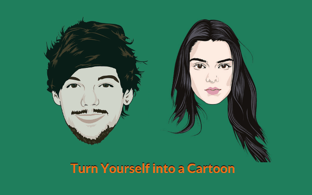 create cartoon characters of yourself