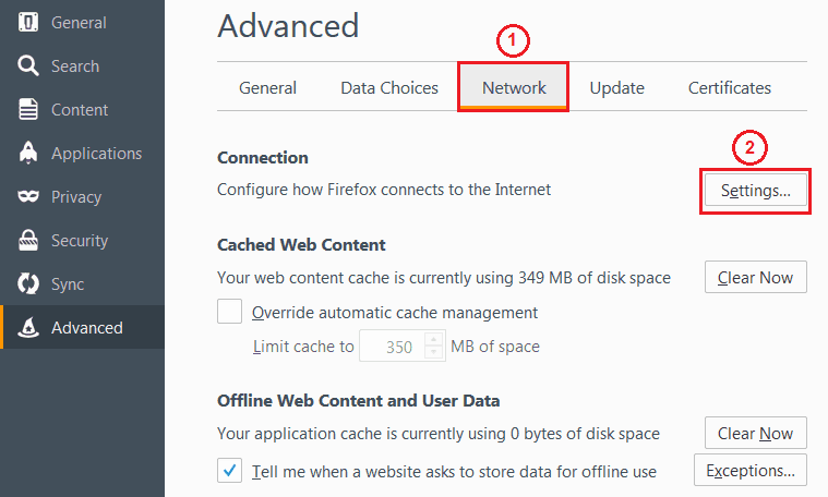 how to fix the proxy server is refusing connections