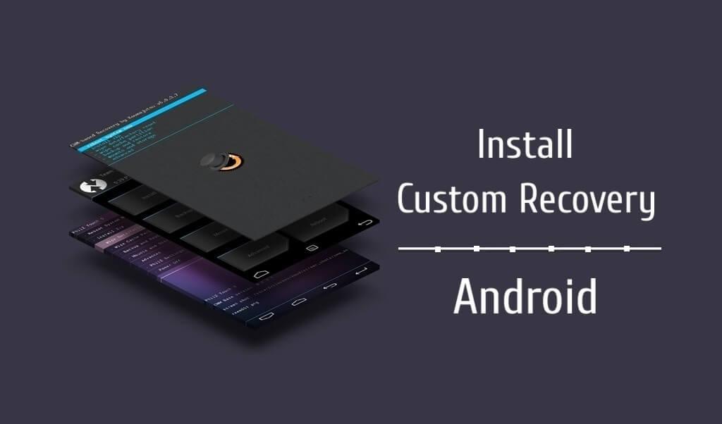 install custom recovery