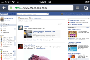 access facebook desktop site