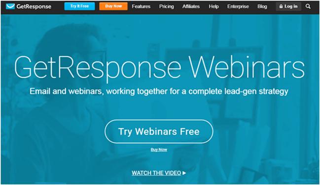 getresponse webinar tool