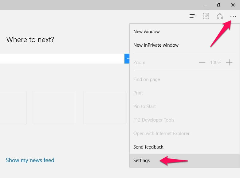 how to reset microsoft edge browser