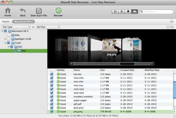 iskysoft data recovery mac