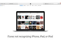 itunes not recognizing iphone
