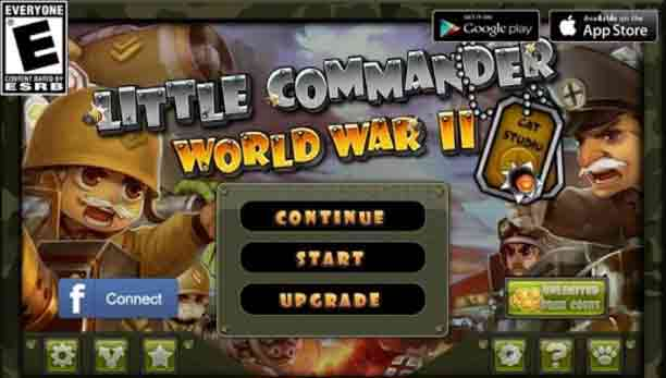 little commander wwii td