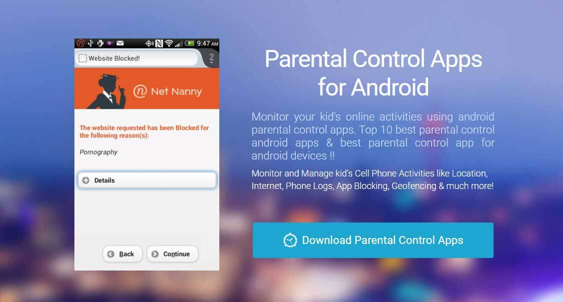 Free parental control apps for android