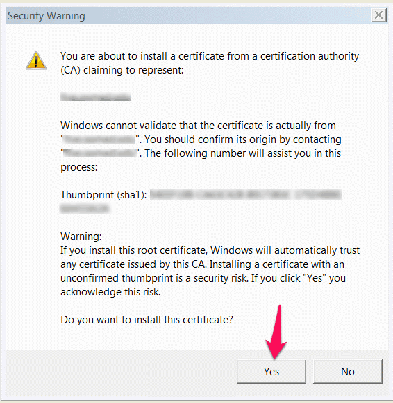 how to fix security certificate error windows 7