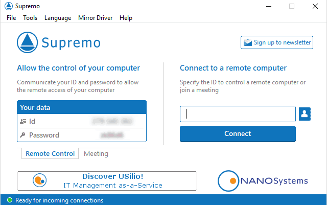 supremo remote desktop