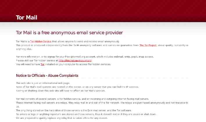 tor mail