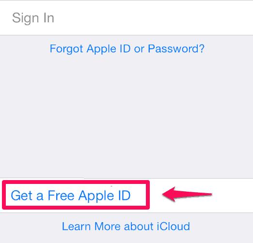 @icloud.com email address