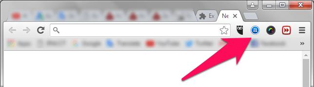 google chrome extension icons