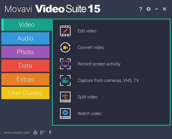 Movavi multimedia software
