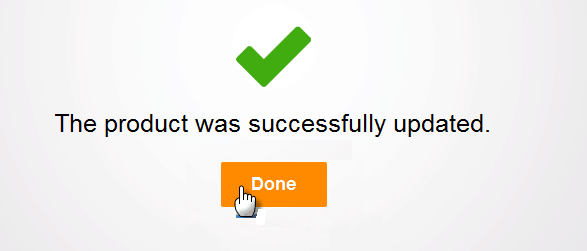 avast antivirus product updated