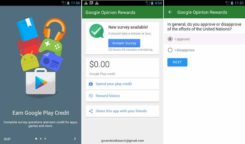 How to Earn Free Google Play Credit and Google Play Gift Cards
